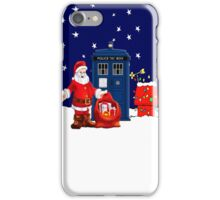 Tardis Santa Christmas iPhone Case/Skin