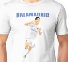 HALA MADRID, JAMES RODRIGUEZ, MADRID Unisex T-Shirt