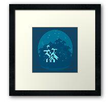 Firefly Cabin Framed Print
