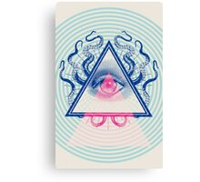 Illuminati Pop Canvas Print