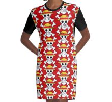 Pirates Logo 2 Graphic T-Shirt Dress