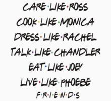 Friends- Best qualities Kids Tee