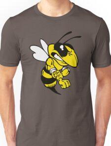 Fairview High School fighting Yellow Jacket - left Unisex T-Shirt
