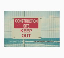 Construction Site - Keep Out Kids Tee