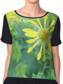 Pinwheel Flowers Chiffon Top