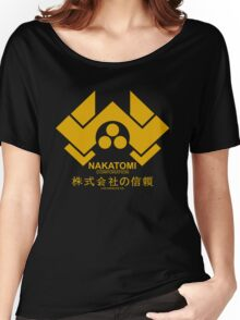 Nakatomi Corporation Hard Women's Relaxed Fit T-Shirt