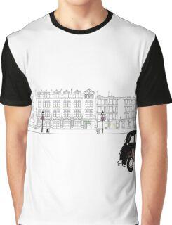 London Street Scene - Chiltern Street W1  Graphic T-Shirt