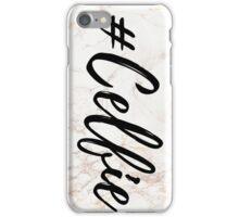 Pink Marble Effect #Celfie iPhone Case/Skin