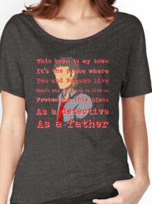 Detective and a Father Women's Relaxed Fit T-Shirt