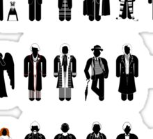 Dr Who recognition guide Sticker