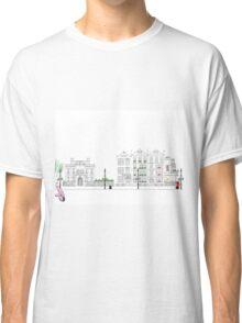 London Street Scene - Chiltern Street W1  Classic T-Shirt