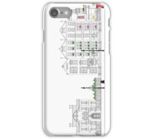 London Street Scene - Chiltern Street W1  iPhone Case/Skin