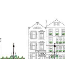 London Street Scene - Chiltern Street W1  Sticker