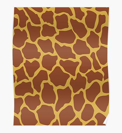Pantone Giraffe Poster