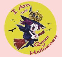 I Am the Queen of Halloween  Baby Tee