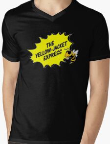 The Yellow Jacket Express - right Mens V-Neck T-Shirt