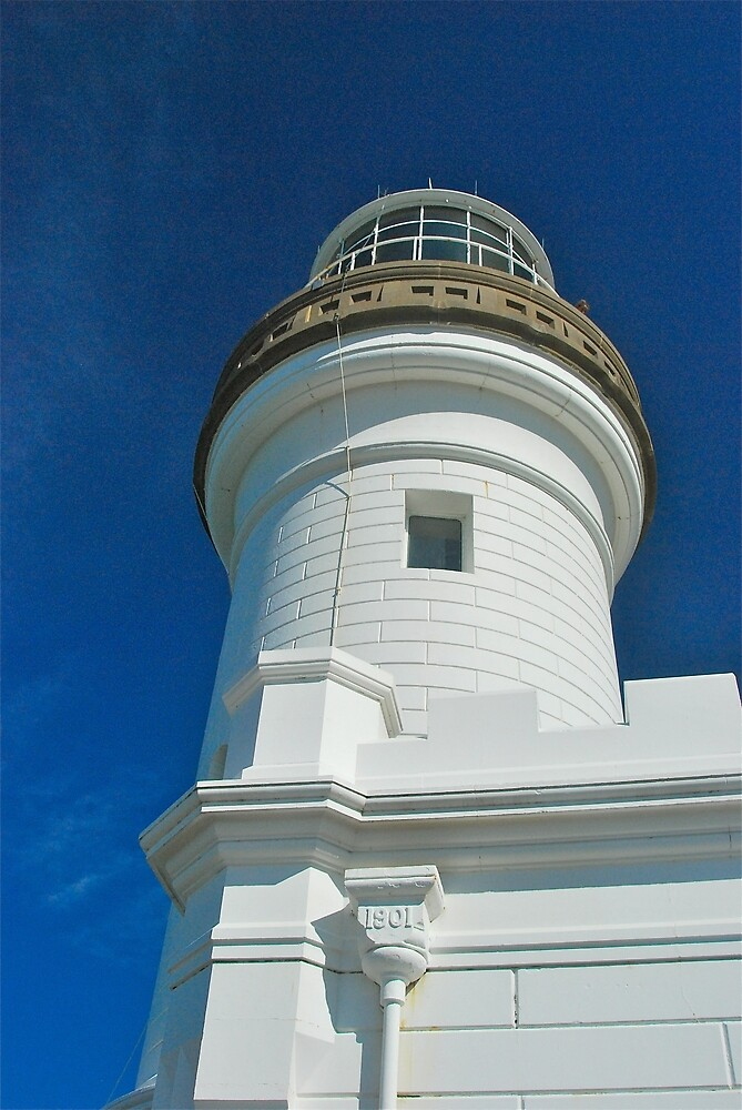 Byron Bay Lighthouse close up by Penny Smith