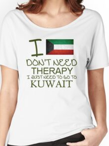 I Don't Need Therapy I Just Need To Go To Barbados Women's Relaxed Fit T-Shirt