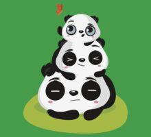 Panda pile Kids Tee