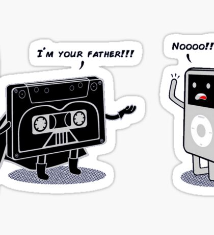 I AM YOUR FATHER ! Sticker