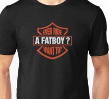 Ever Ride A Fatboy Funny Logo Unisex T-Shirt