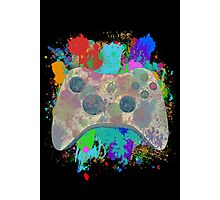Painted Xbox 360 Controller Photographic Print