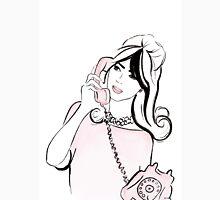 Hello Darling Watercolour Illustration Unisex T-Shirt