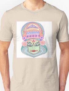 Tangled Kathakali Dancer Unisex T-Shirt