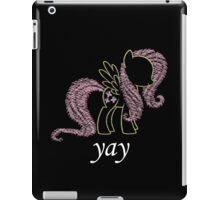Sprayed Fluttershy (yay Edition) iPad Case/Skin