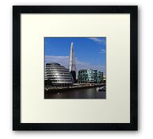 More London, City Hall & The Shard Framed Print