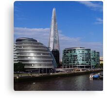 More London, City Hall & The Shard Canvas Print