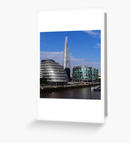 More London, City Hall & The Shard Greeting Card