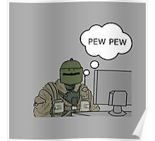 Pew Pew Poster