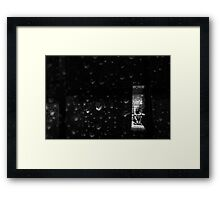 The Bathroom Floor Framed Print