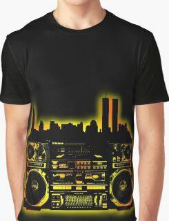 Boombox City Graphic T-Shirt