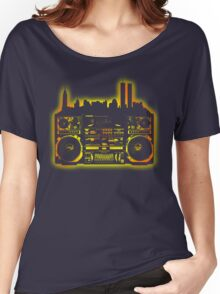 Boombox City Women's Relaxed Fit T-Shirt