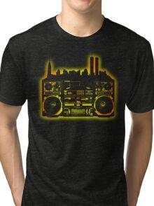 Boombox City Tri-blend T-Shirt