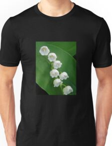 Lily of the Valley from Underneath Unisex T-Shirt