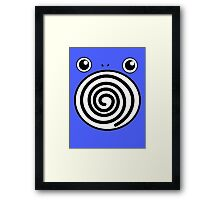 Pokemon Poliwhirl Framed Print