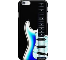 guitar blue iPhone Case/Skin