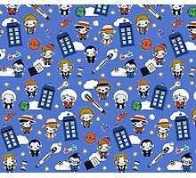 Doctor who All over Photographic Print