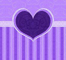 Heart Purple by thedustyphoenix