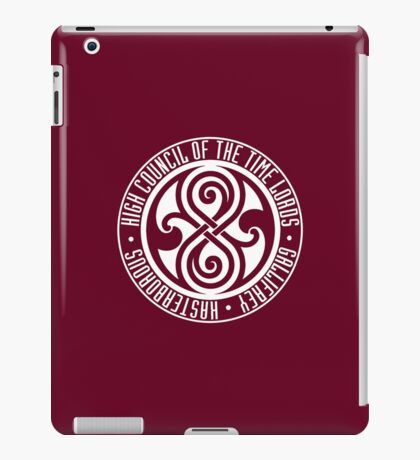 Doctor Who - High Council of the Time Lords - Gallifrey iPad Case/Skin