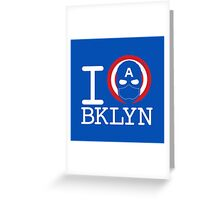 I Love Brooklyn Greeting Card