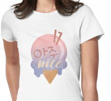 Seventeen - Very Nice (Ice Cream) Womens Fitted T-Shirt