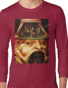 Hieronymus Bosch monster eating people Long Sleeve T-Shirt