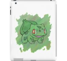 Watercolour Bulbasaur iPad Case/Skin