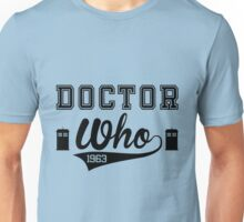 DOCTOR WHO 1963 ! Unisex T-Shirt