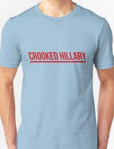 Crooked Hillary Unisex T-Shirt