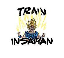Train Insaiyan Goku Super Saiyan 2 Photographic Print